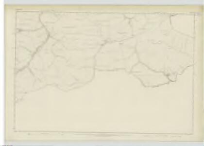 Selkirkshire, Sheet XXI - OS 6 Inch map