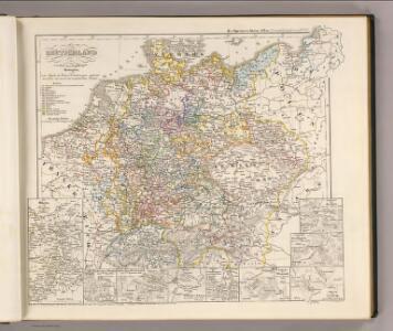Deutschland zur Zeit des 30 jaehrigen Krieges.