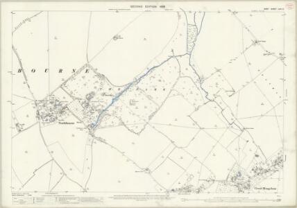 Kent LVIII.3 (includes: Deal; Northbourne; Sholden) - 25 Inch Map