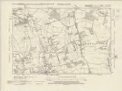 Hertfordshire XLIII.SW - OS Six-Inch Map