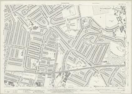 Kent II.16 (includes: Bexley; Erith) - 25 Inch Map