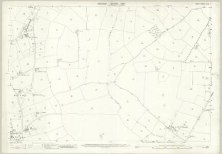 Essex (1st Ed/Rev 1862-96) XXXIV.1 (includes: Black Notley; Braintree and Bocking; Felsted) - 25 Inch Map