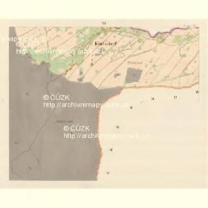 Karlsdorf (Karlowawes) - m1153-1-011 - Kaiserpflichtexemplar der Landkarten des stabilen Katasters