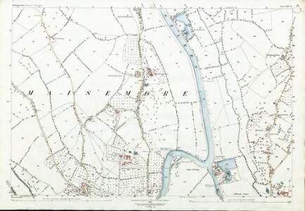Gloucestershire XXV.6 (includes: Highnam; Maisemore; Sandhurst) - 25 Inch Map