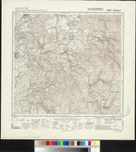 Meßtischblatt 6021 : Haibach, 1940