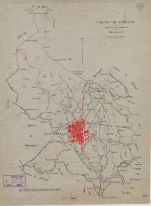 Mapa planimètric de Terrassa