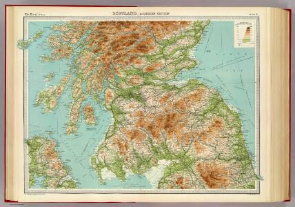 Scotland - southern section.