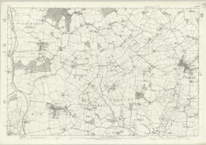 Essex XIII - OS Six-Inch Map