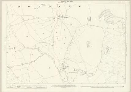 Yorkshire CXXXIII.7 (includes: Bordley; Malham Moor; Thresfield) - 25 Inch Map