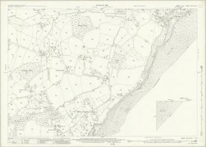 Sussex LIX.9 & 10 (includes: Fairlight) - 25 Inch Map