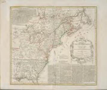 America Septentrionalis a Domino d'Anville in Galliis edita nunc in Anglia: Coloniis in interiorem Virginiam deductis nec non Fluvii Ohio cursu aucta notisque geographicis et historicis illustrata / Sumptibus Homannianorum Heredum.