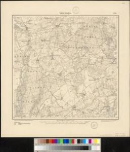 Meßtischblatt 1791 : Goscieszyn, 1890