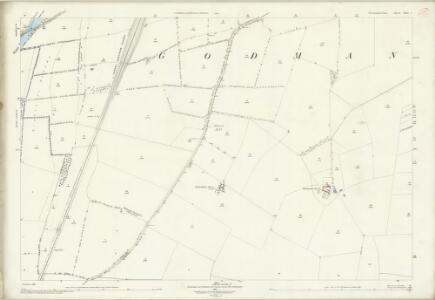 Huntingdonshire XXII.5 (includes: Brampton; Godmanchester; Offord Cluny) - 25 Inch Map