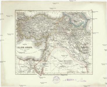 Karte von Klein Asien