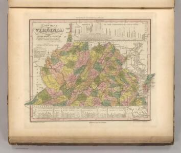 New Map Of Virginia.