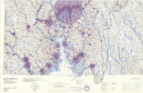 Statistikk 43-5-2: Bosettingskart over Oslo. Blad 2