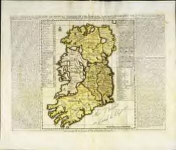 Carte ancienne et moderne de l'Irlande