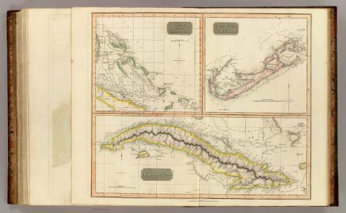 Cuba, Bahama I., Bermudas.