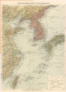 Russisch - Japanische Kriegsschauplatz