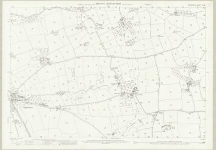 Devon LIV.16 (includes: Colebrooke; Crediton Hamlets; Down St Mary; Sandford) - 25 Inch Map