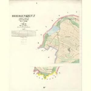 Heiligenkreuz (Swaty Krziž) - c8233-1-001 - Kaiserpflichtexemplar der Landkarten des stabilen Katasters