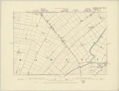 Cambridgeshire XVI.NE - OS Six-Inch Map