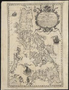 Mapa de las yslas Philipinas