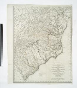 The marches of Lord Cornwallis in the Southern Provinces : now States of North America, comprehending the two Carolinas, with Virginia and Maryland, and the Delaware counties / by William Faden, geographer to the King.