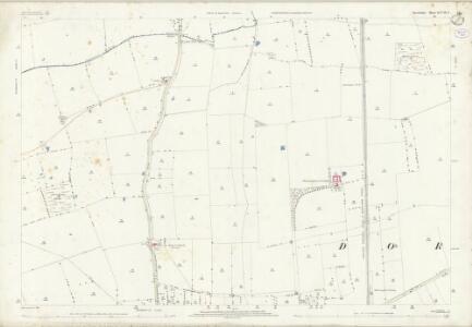 Lincolnshire XCVII.3 (includes: Ashby De La Launde and Bloxholm; Digby; Dorrington; Ruskington) - 25 Inch Map