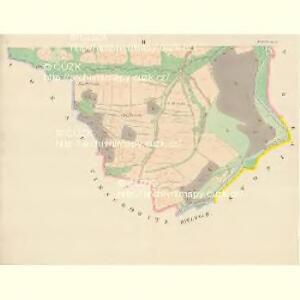 Zichowetz - c9437-1-002 - Kaiserpflichtexemplar der Landkarten des stabilen Katasters