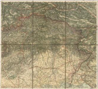 Carta Generale del Regno Lombardo-Veneto e paesi limitrofi... II.