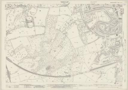 Worcestershire XIV.2 (includes: Kidderminster Borough; Wribbenhall) - 25 Inch Map