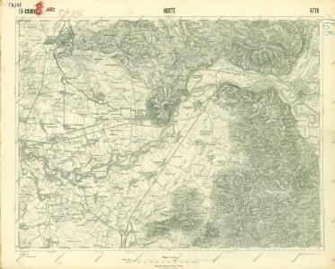 III. vojenské mapování 4770