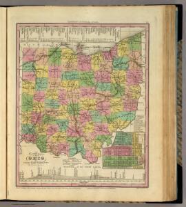 New Map Of Ohio.