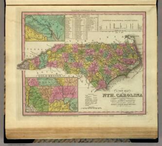 New Map Of Nth Carolina.