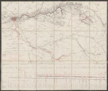 Carte des dérivations d'eaux de sources