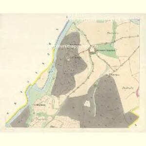 Gross Hitschitz (Welky Hičice) - c8425-1-001 - Kaiserpflichtexemplar der Landkarten des stabilen Katasters