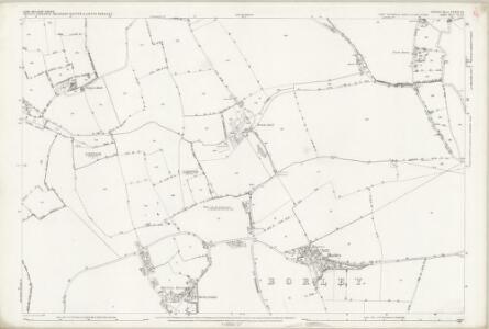 Essex (1st Ed/Rev 1862-96) VI.10 (includes: Borley; Foxearth) - 25 Inch Map