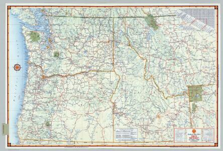 Shell Sectional Map No. 11- Pacific Northwest States.