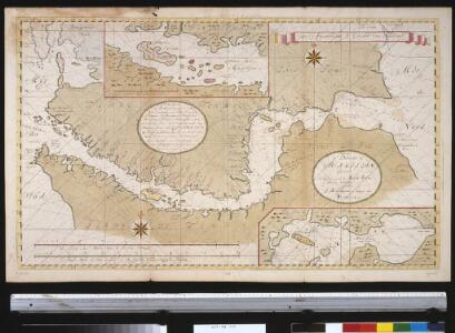 Carte du Detroit de Magellan dressée sur les memoires de Mr. de la Morliere Doct.r de Sorbonne dediée à Monseigneur l'évêque de Viviers