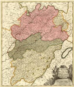 Superior Burgundiae Comitatus Vulgo la Franche Comte Complectens Praefecturas Amontii Dolae Avalli Quibus Adjacetus Comitatus Montis Balliardi