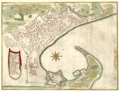 Plan von den Königl. Haubt und Residenz, Statt Messina in Königreich Sicilien Annotatio