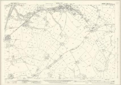 Lancashire CXII.7 (includes: Bredbury And Romiley; Hyde) - 25 Inch Map