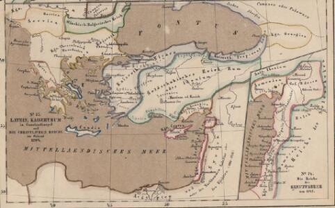 Das lateinische Kaiserthum in Constantinopel und die christlichen Reiche im Orient 1204