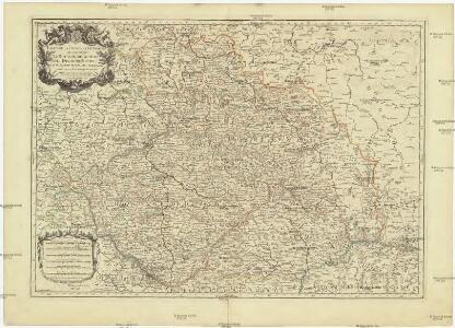 Estats de la couronne de Boheme qui comprennent le royaume de Boheme, le duché de Silesie, les marquisats de Moravia et de Lusace