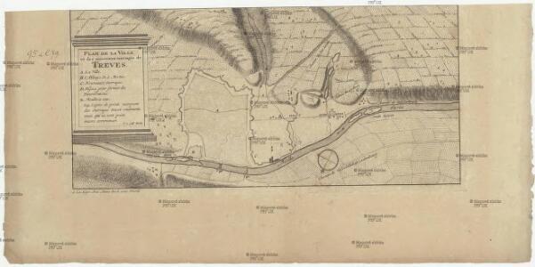 Plan de la ville et des nouveaux ouvrages de Treves