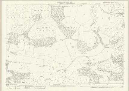 Montgomeryshire IX.8 (includes: Llanfyllin; Llanrhaeadr Ym Mochnant) - 25 Inch Map