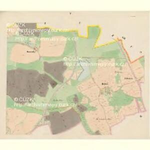 Trzitesch - c6467-2-005 - Kaiserpflichtexemplar der Landkarten des stabilen Katasters