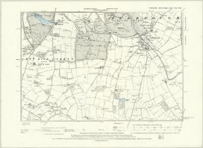 Yorkshire XXV.SE - OS Six-Inch Map