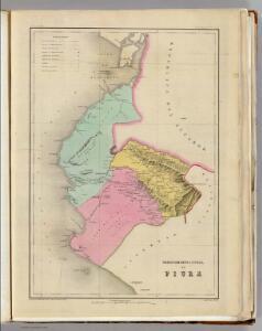 Departamento litoral de Piura.